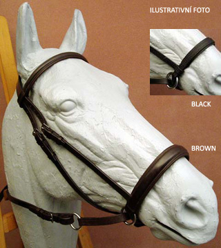 Ohlávka Bitless Bridle BETA - Large, Brown