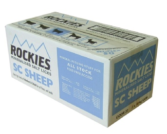 SC Sheep Rockies 2x10kg